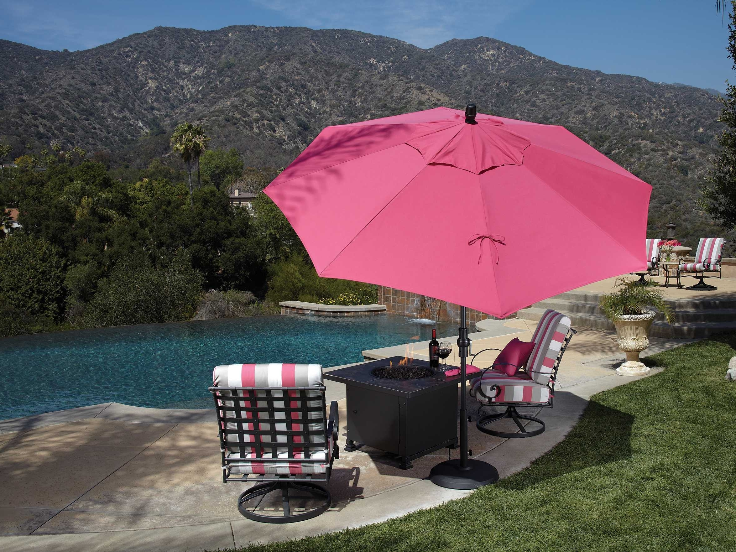 Well Known Pink Patio Umbrellas Throughout Commercial Outdoor Umbrellas Sale (View 17 of 20)