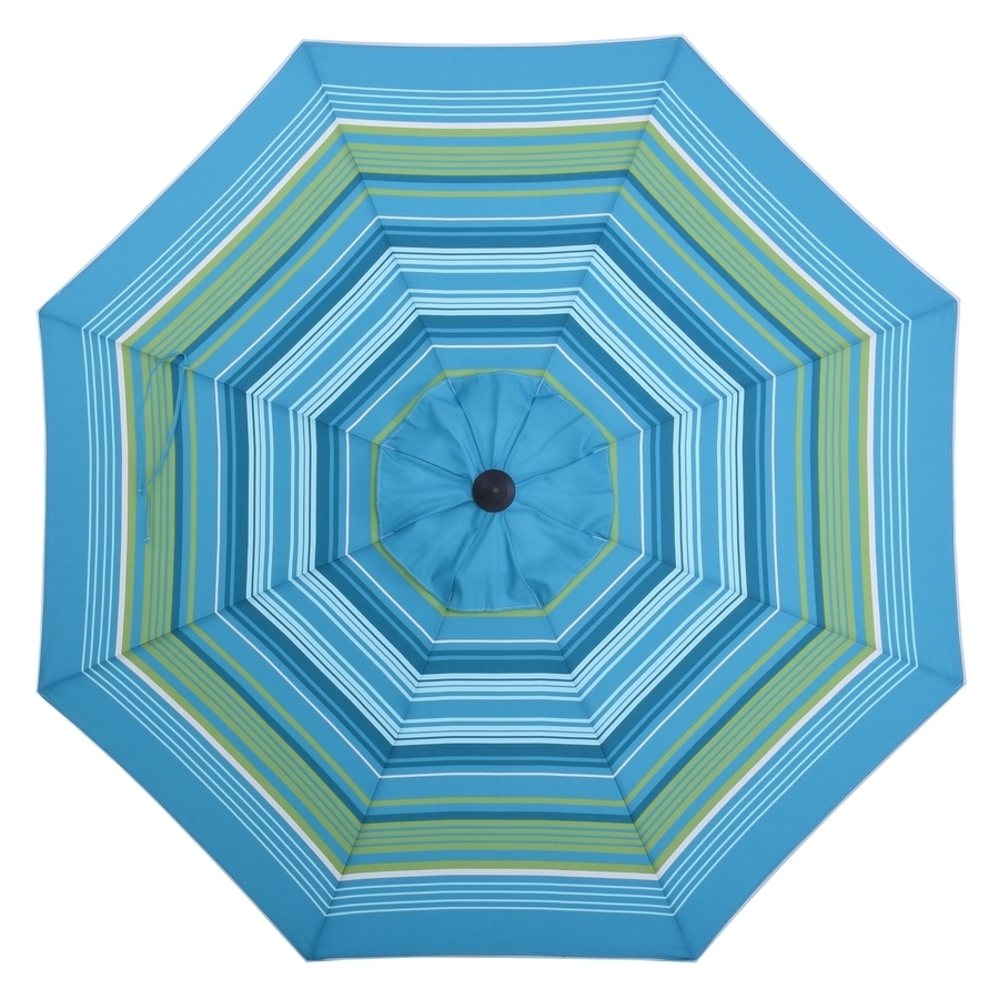Well Known Shop Patio Umbrellas At Lowes Within Patterned Patio Umbrellas (View 5 of 20)