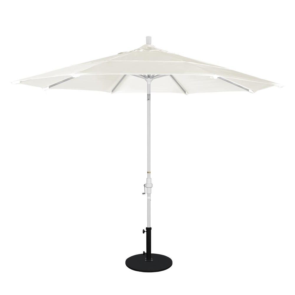 Well Known Vented Patio Umbrellas With California Umbrella 11 Ft (View 17 of 20)