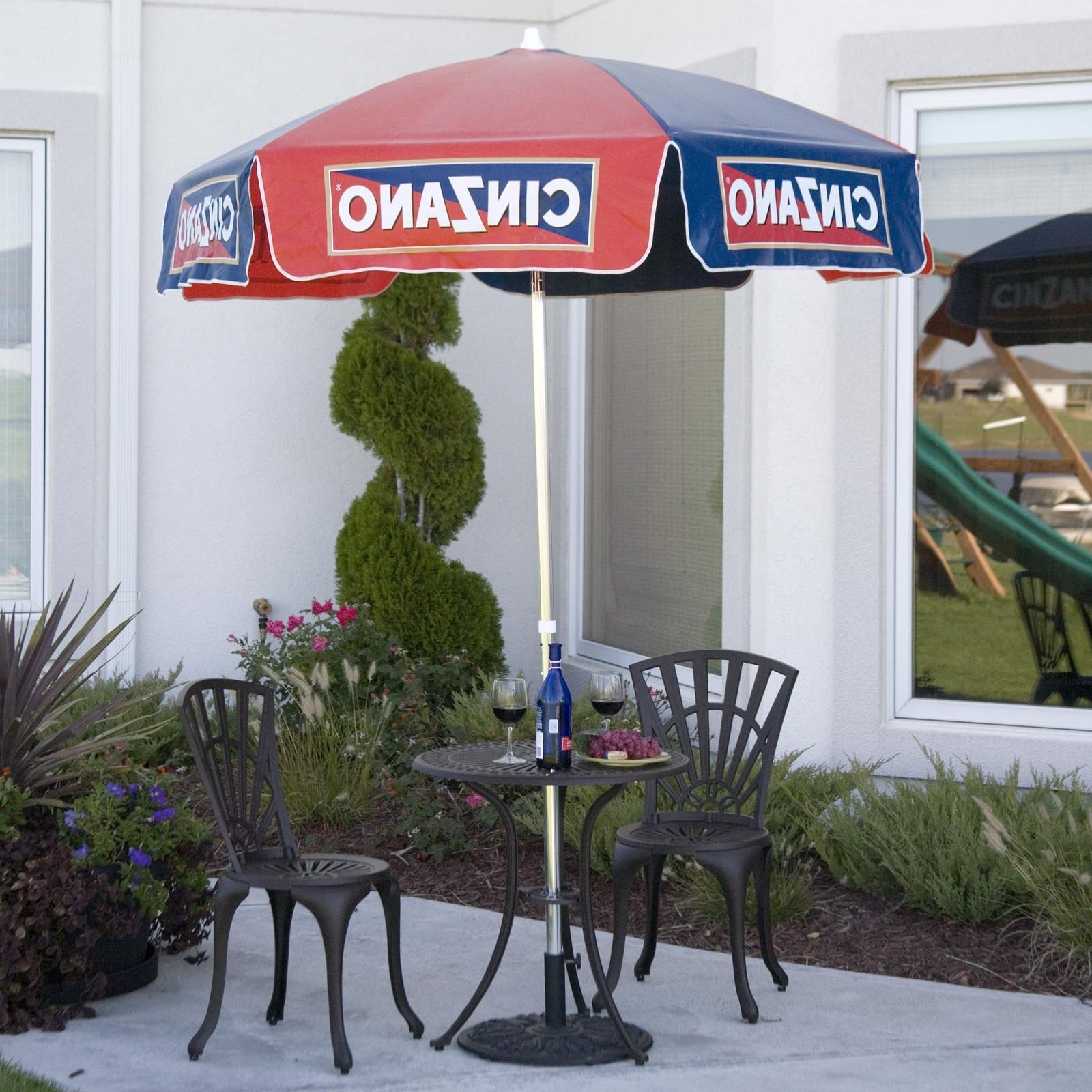 Well Known Vinyl Patio Umbrellas With Fringe With Regard To Destinationgear 6 Ft (View 19 of 20)