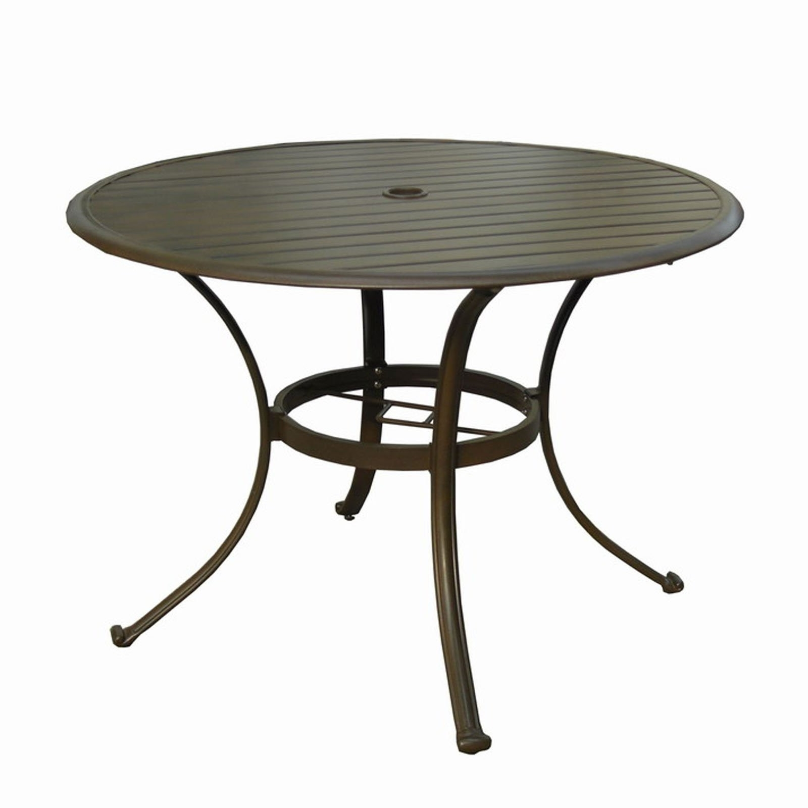 Well Liked Outdoor Tablecloth Umbrella Hole New Outdoor Dining Table With With Regard To Patio Tables With Umbrella Hole (View 18 of 20)