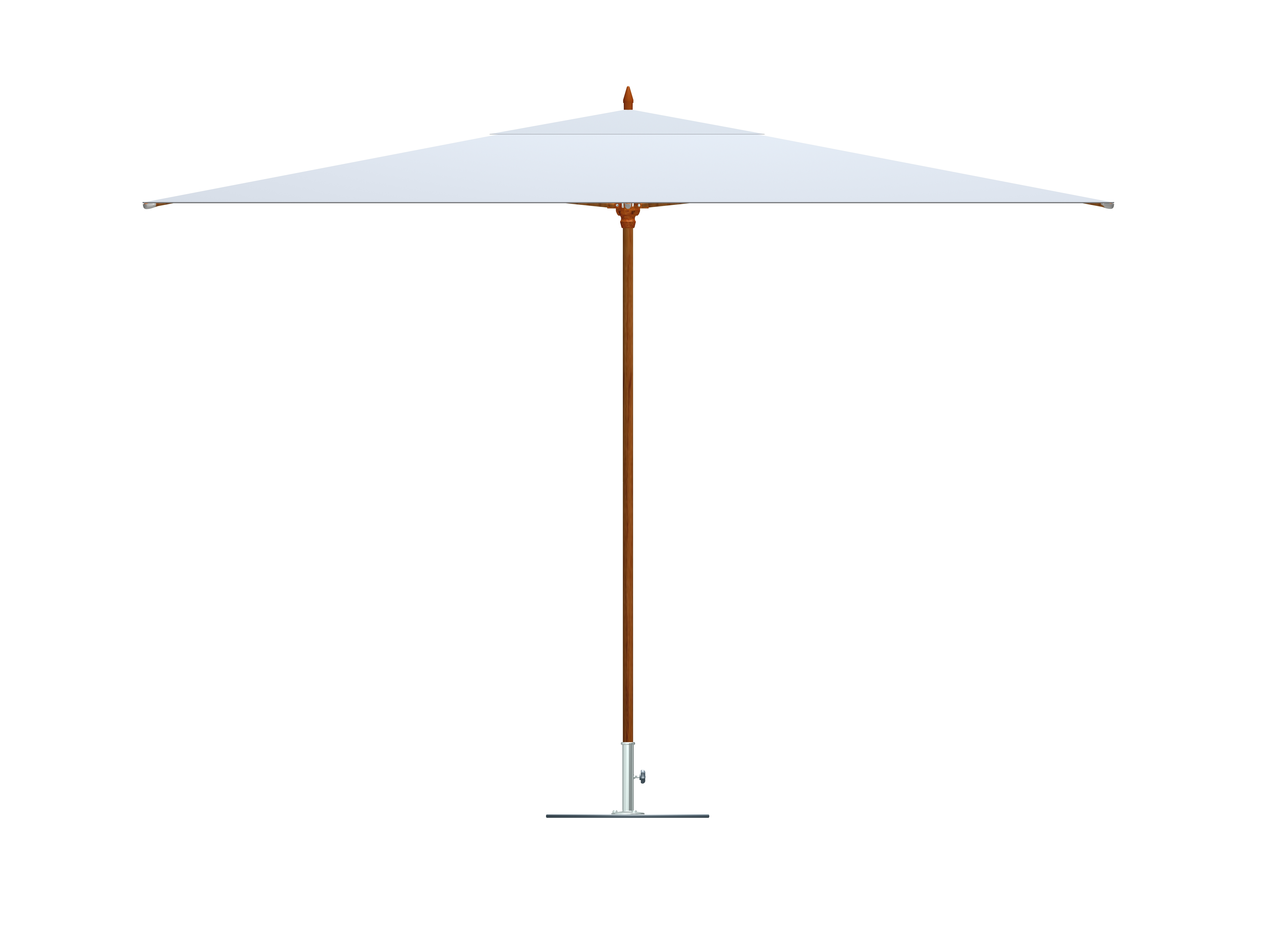 White Patio Umbrellas Intended For Latest Outdoor Umbrellas And Bases – Tuuci Floor Sample Sale – Bluesky (View 16 of 20)