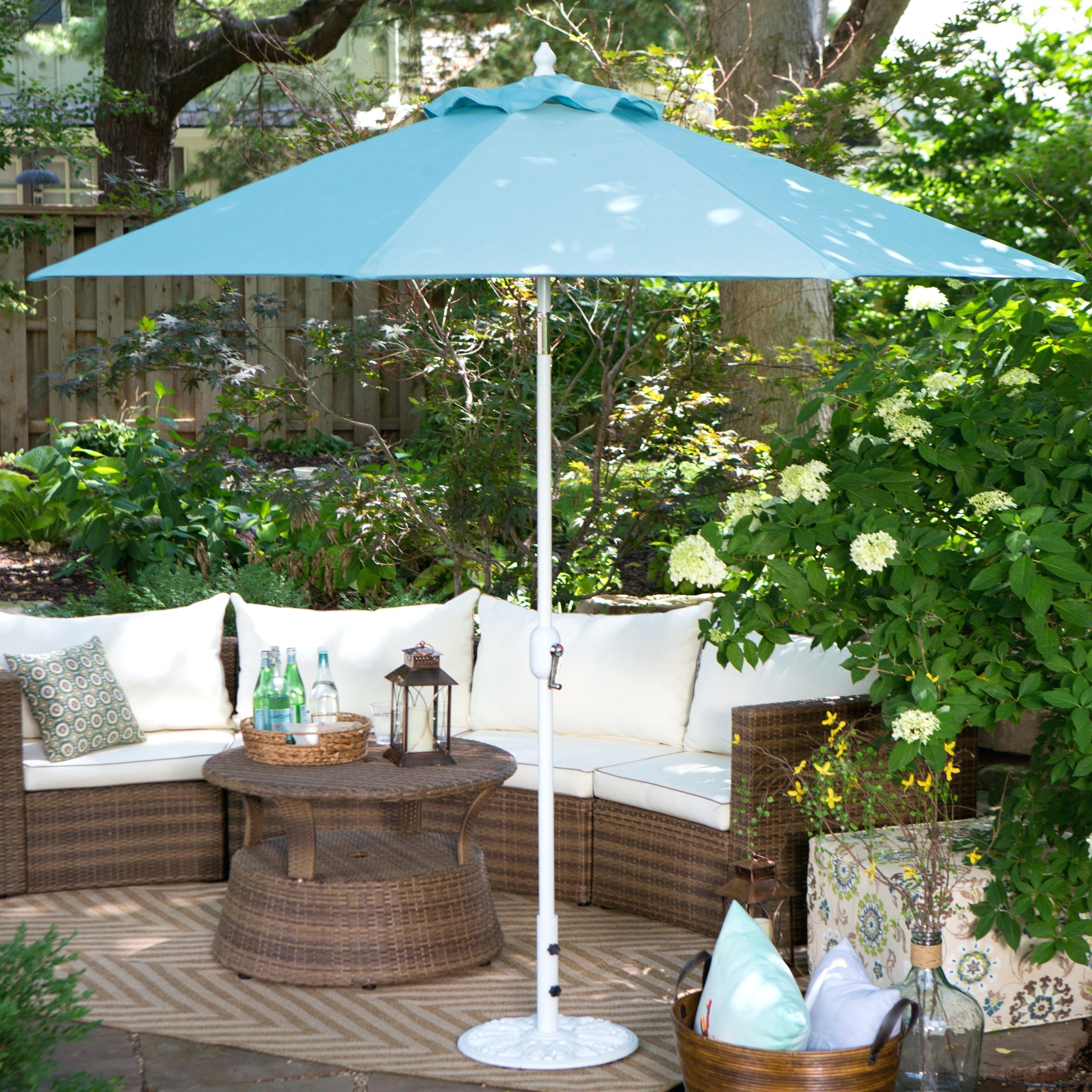 Widely Used Exotic Patio Umbrellas Pertaining To Sunbrella Patio Umbrellas – Kemvaleo (View 20 of 20)