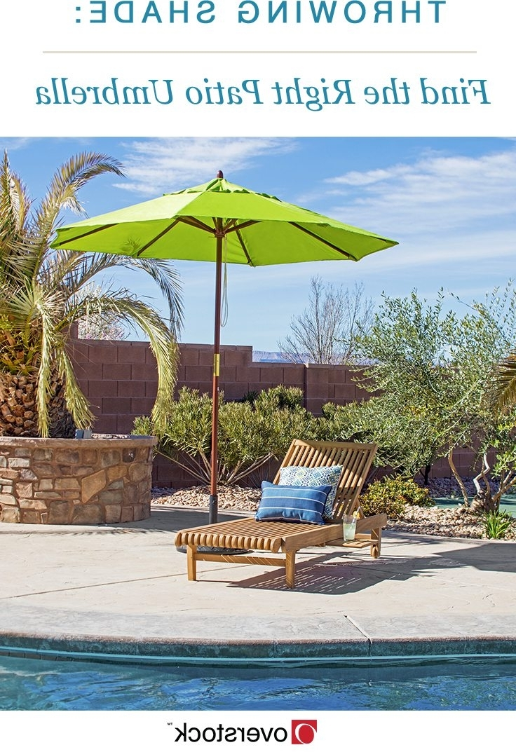 Widely Used Throwing Shade: Find The Right Patio Umbrella – Overstock Inside Patio Umbrellas For High Wind Areas (View 15 of 20)