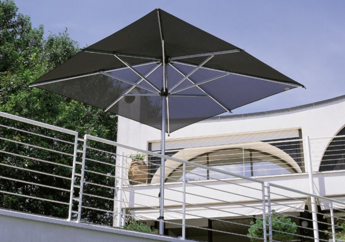 Wind Resistant Patio Umbrellas For Newest Commercial Patio Umbrella Aluminum Fabric Wind Resistant Throughout (View 19 of 20)