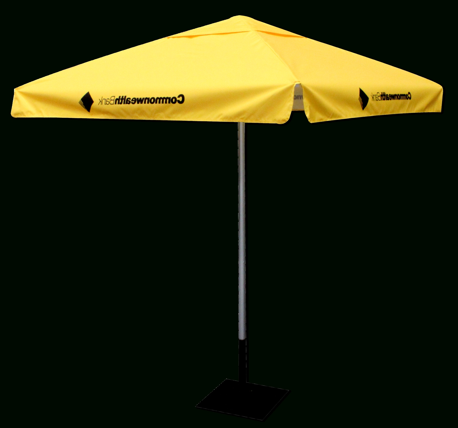 Yellow Patio Umbrellas Pertaining To Well Known Café Umbrellas – Star Outdoor Café Range Branding And Promotion (Gallery 12 of 20)
