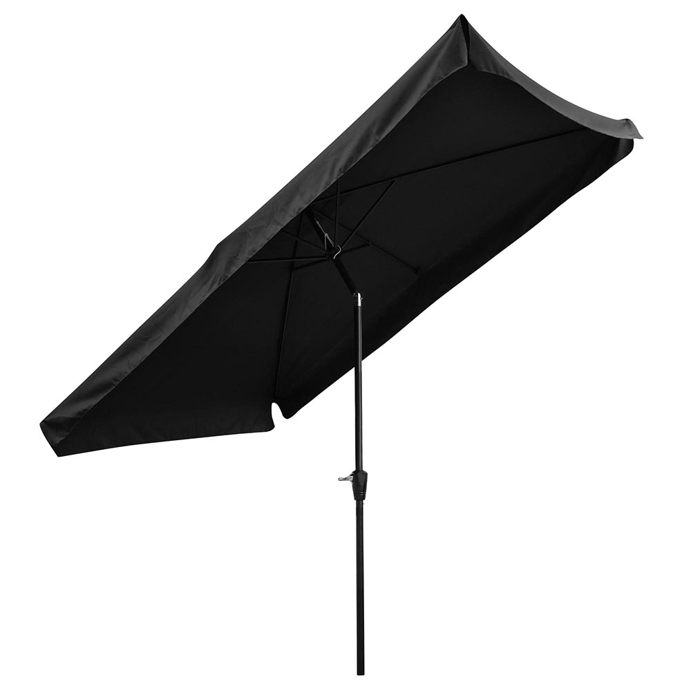 Yescom 10X6.5Ft (2X3M) Rectangle Aluminum Outdoor Patio Umbrella W Intended For Best And Newest Patio Umbrellas With Valance (Gallery 17 of 20)