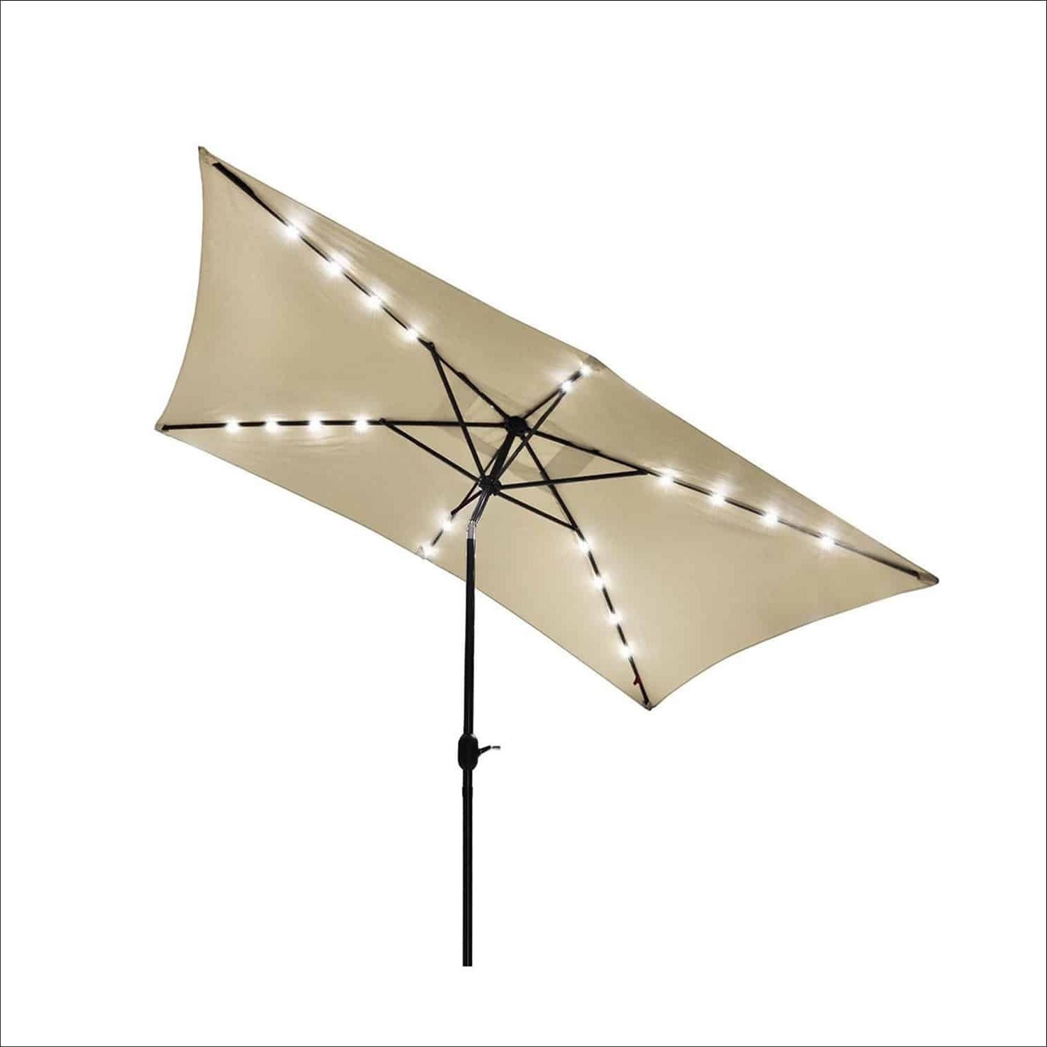 Yescom Patio Umbrellas For Favorite Yescom 10 X 6.5 Feet Rectangle Outdoor Patio Offset Umbrella (Gallery 6 of 20)