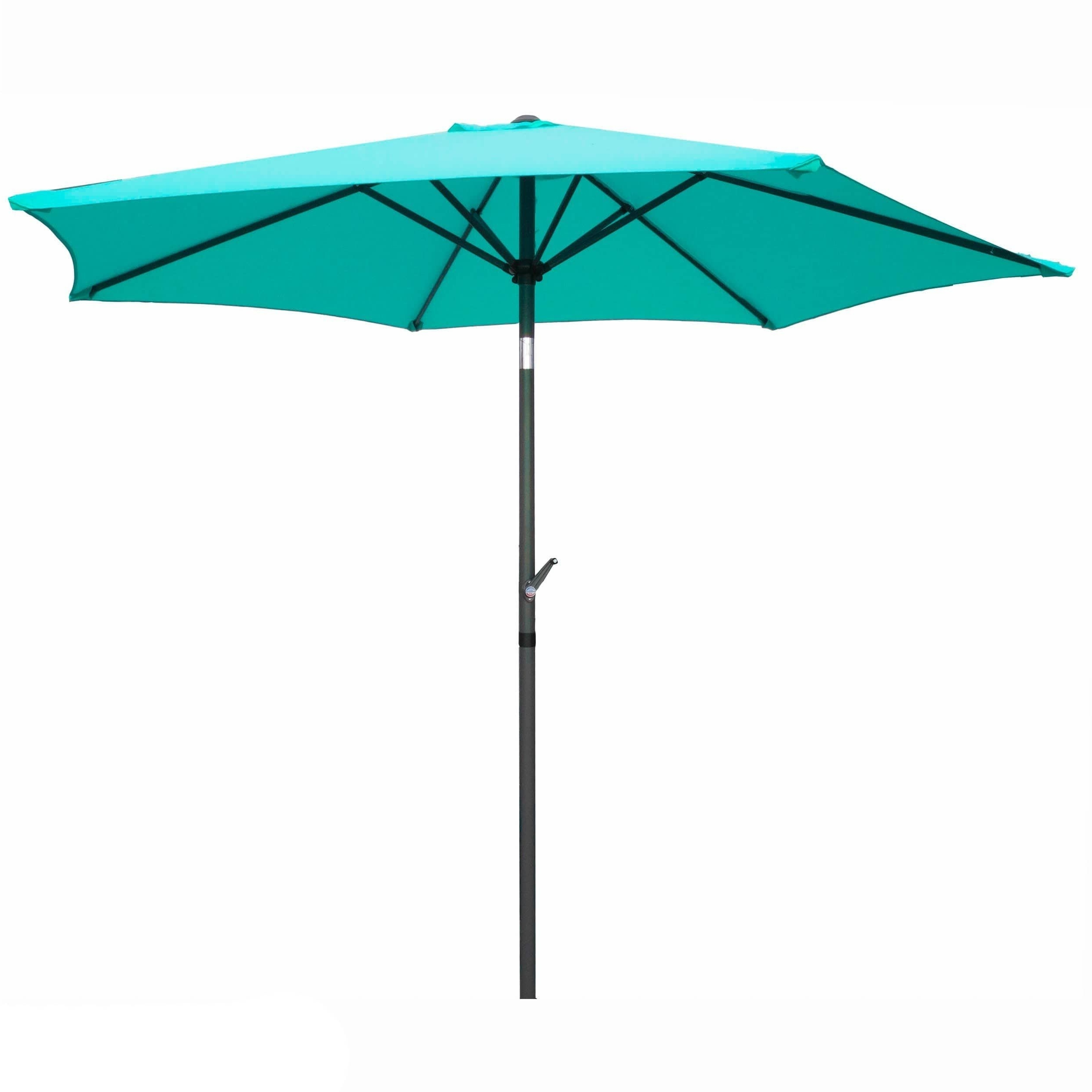 Yescom Patio Umbrellas Regarding Widely Used Patio Umbrella 8 Foot (Terra Cotta), Orange #yf 1104/ (View 16 of 20)