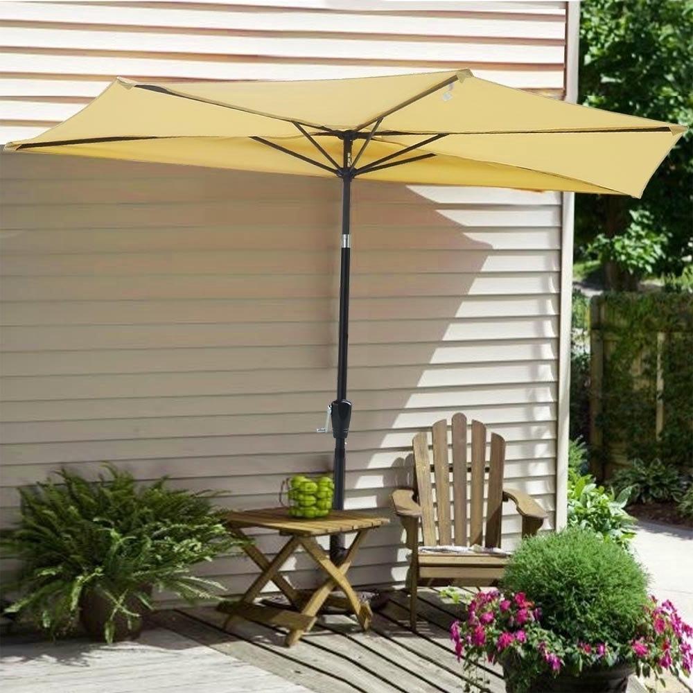 Yescom Patio Umbrellas With Regard To 2018 Patio Half Umbrella Homeware: Buy Online From Fishpond.au (Gallery 14 of 20)