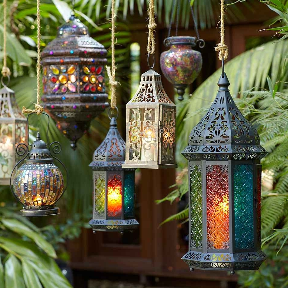 101 Best Lanterns Images On Pinterest From Moroccan Outdoor Lights Within Well Known Outdoor Turkish Lanterns (View 1 of 20)