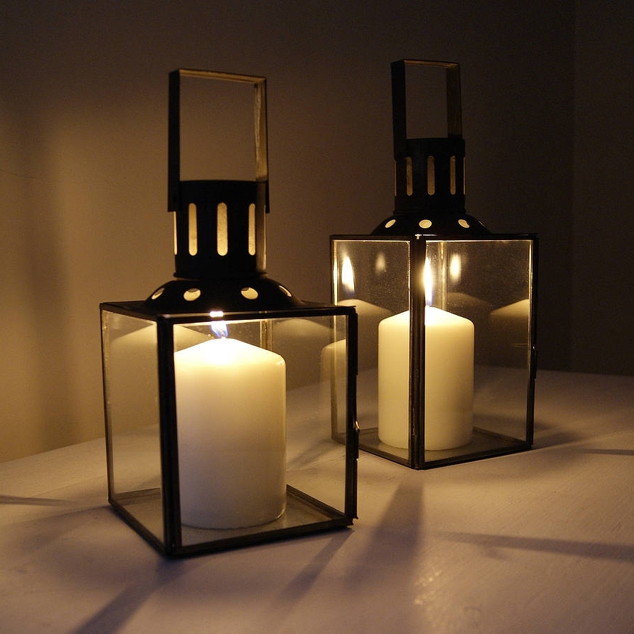 12 Top Romantic Glass Lanterns With Candles In It – Top Inspirations With Regard To Most Recent Outdoor Storm Lanterns (Gallery 19 of 20)