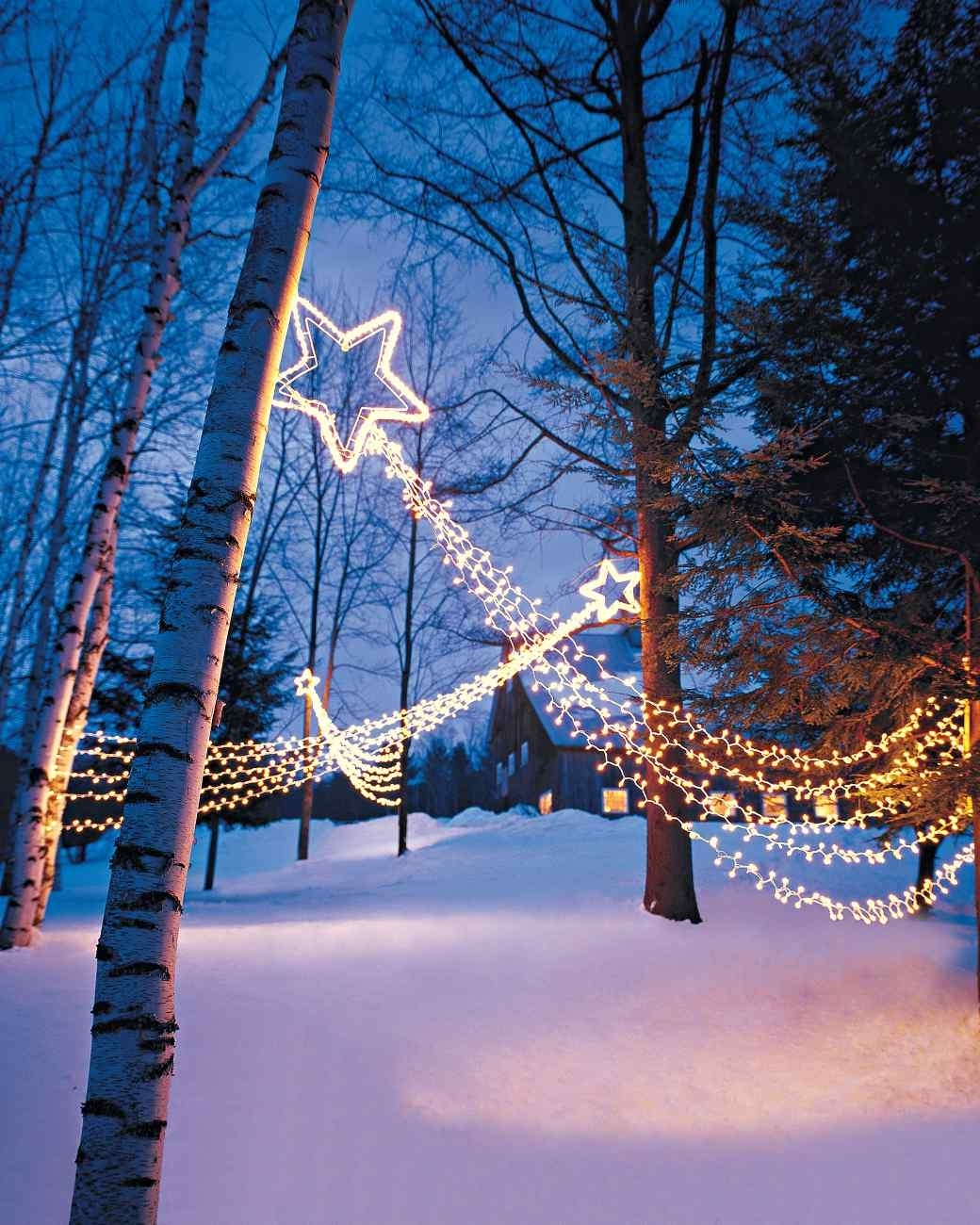 15 Beautiful Christmas Outdoor Lighting Diy Ideas (View 1 of 20)