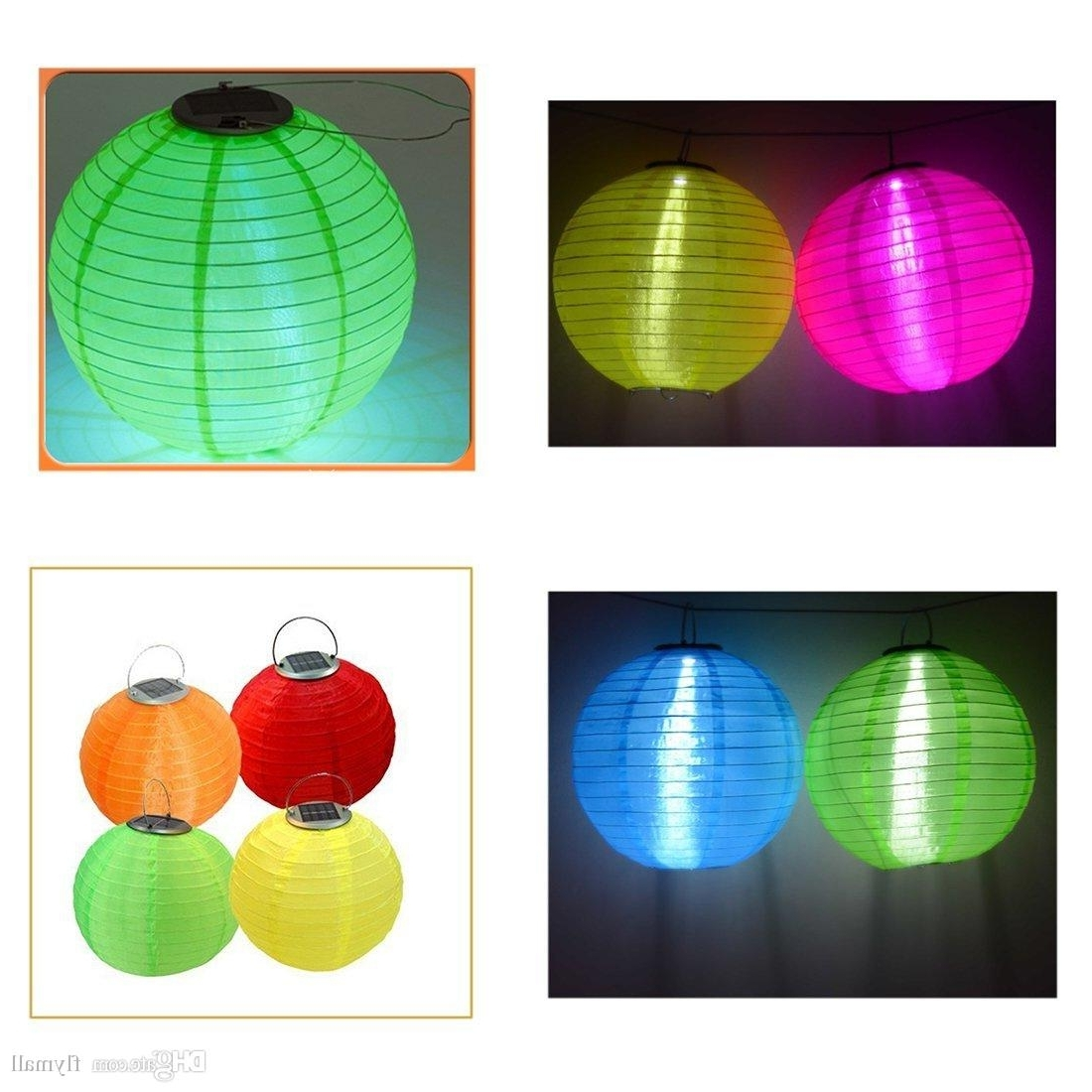 2018 30cm Waterproof Solar Lanterns Solar Outdoor Gardern Hanging Within Latest Outdoor Holiday Lanterns (View 17 of 20)