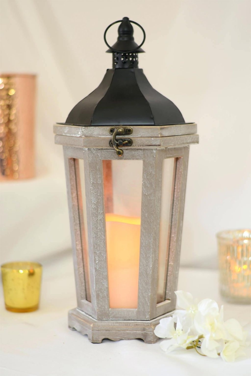2018 Big Lots Outdoor Lanterns Throughout Candles ~ Giant Candle Lantern For Block White Indoor Outdoor Length (View 14 of 20)