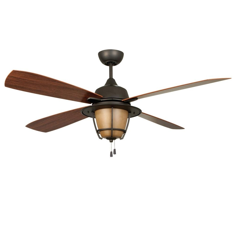 2018 Morrow Bay Indoor / Outdoor Ceiling Fan With Lightellington In Ellington Outdoor Ceiling Fans (Gallery 2 of 20)