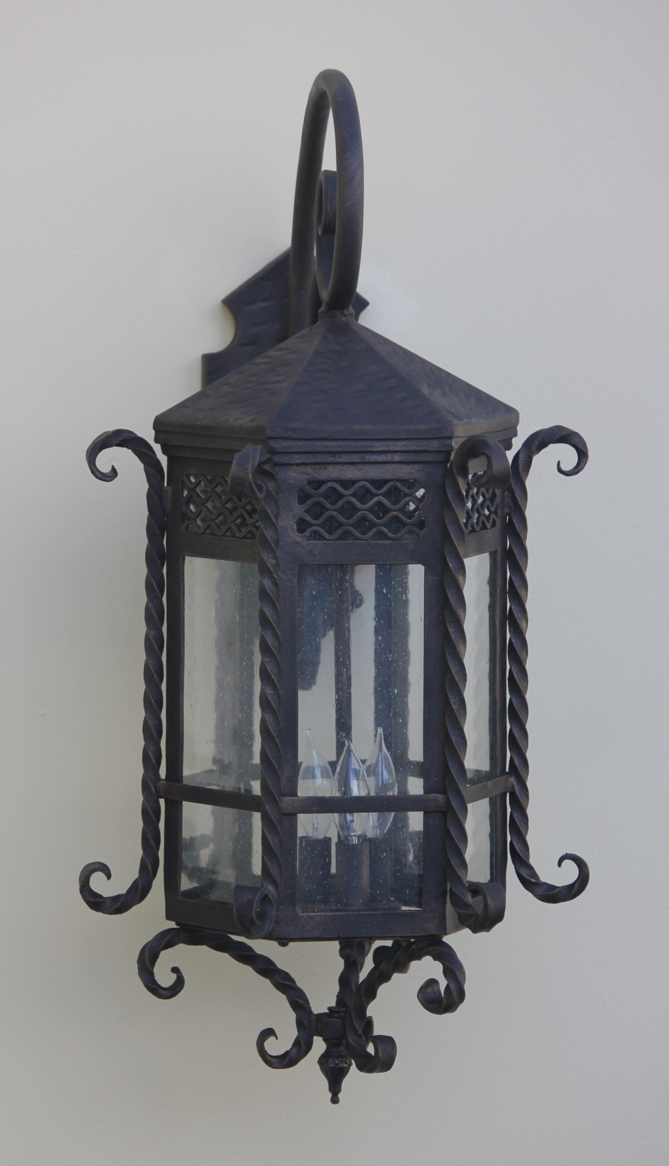 2018 Outdoor Exterior Lanterns With Regard To Lights Of Tuscany 7017 3 Spanish Style Outdoor Lantern/ Exterior (Gallery 4 of 20)