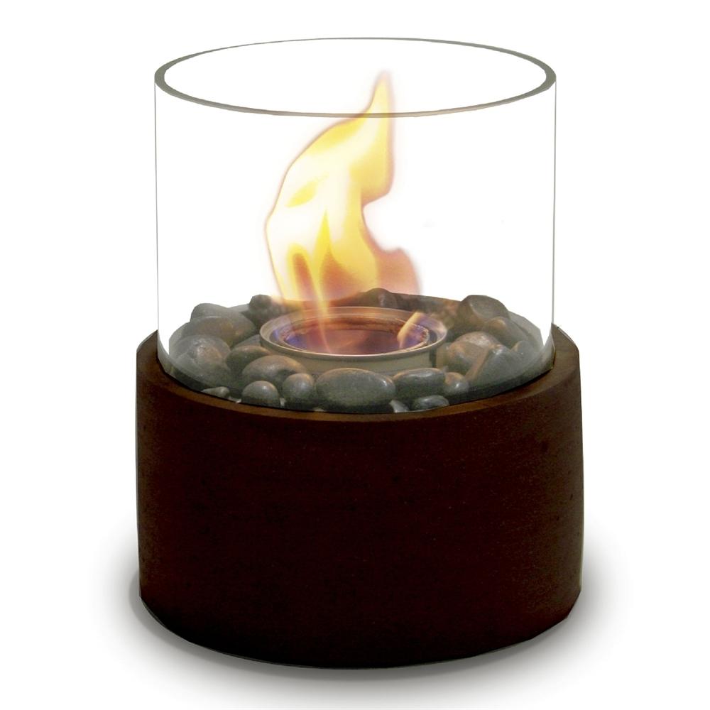 2018 Outdoor Gel Lanterns Within Paramount Gfb 210 Bz Concrete Fire Column Garden Burner (Gallery 11 of 20)