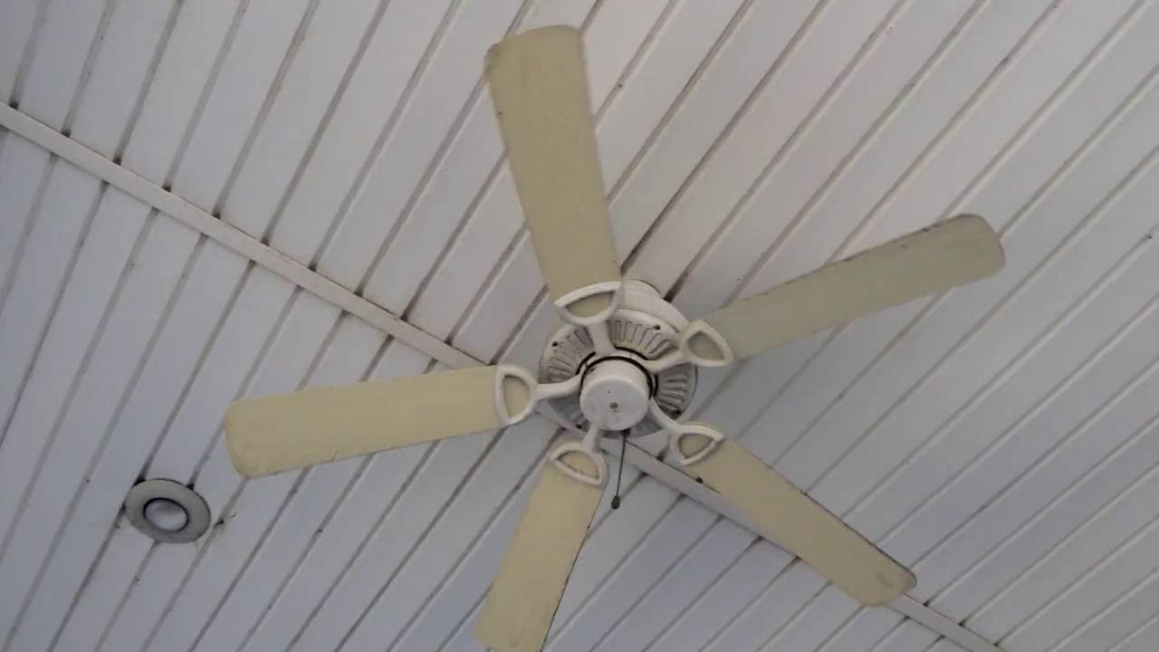 "2018 Quorum Outdoor Ceiling Fans Throughout 52"" Quorum Estate Patio Ceiling Fans At An (Outdoor) Ice Cream Stand (Gallery 3 of 20)"