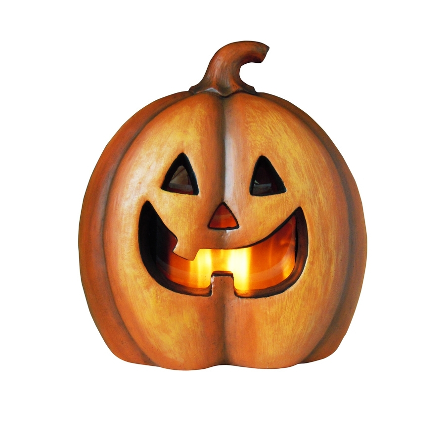 2018 Shop Holiday Living Pre Lit Freestanding Jack O Lantern Greeter With For Outdoor Pumpkin Lanterns (Gallery 10 of 20)