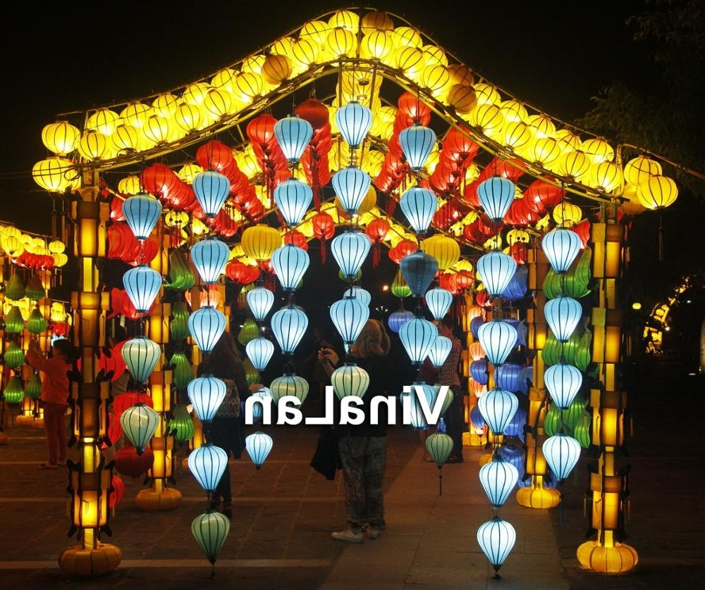2018 Vietnamese Lanterns For Outdoor Event Decorations – Lanterns For Within Outdoor Vietnamese Lanterns (Gallery 1 of 20)