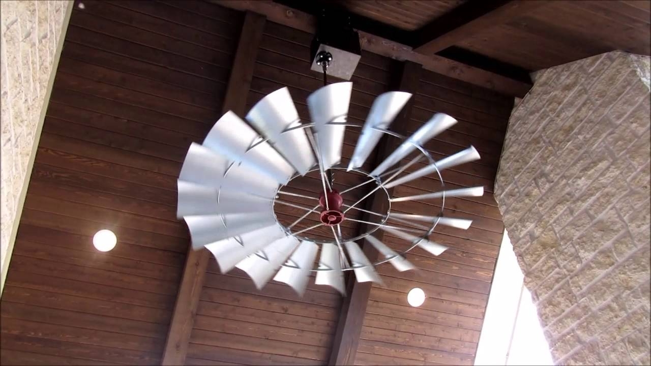 2018 Windmill Ceiling Fans Of Texas  Welcome! – Youtube Regarding Outdoor Windmill Ceiling Fans With Light (Gallery 12 of 20)