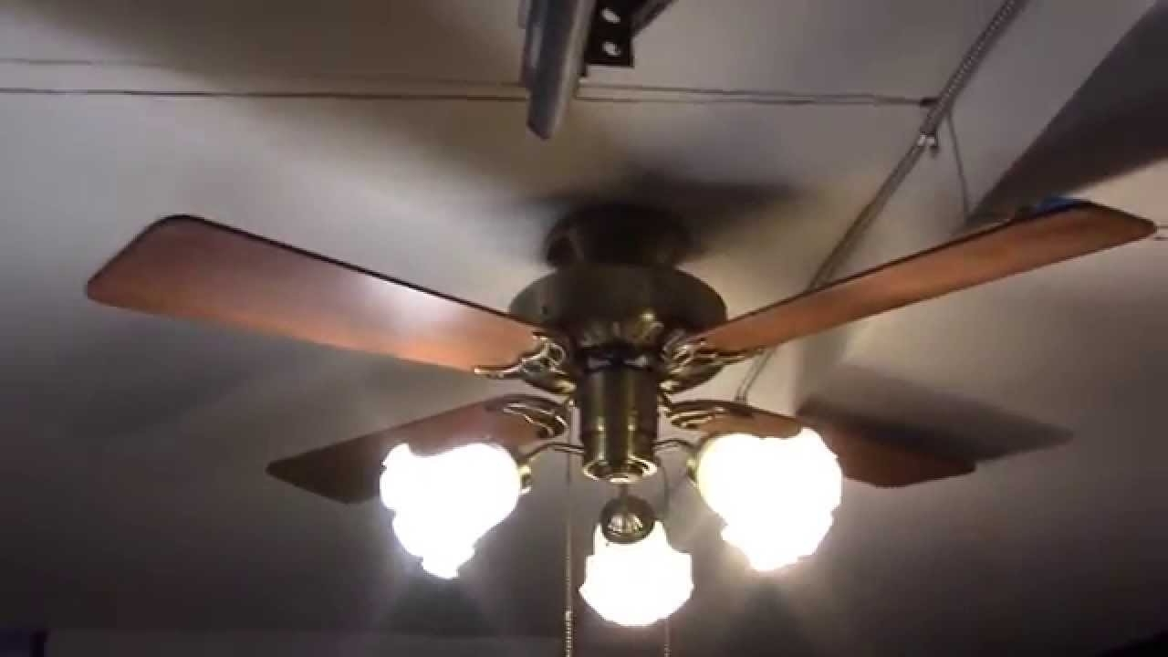 "2019 42"" Hunter Coastal Breeze Ceiling Fan – Youtube Within Coastal Outdoor Ceiling Fans (View 2 of 20)"