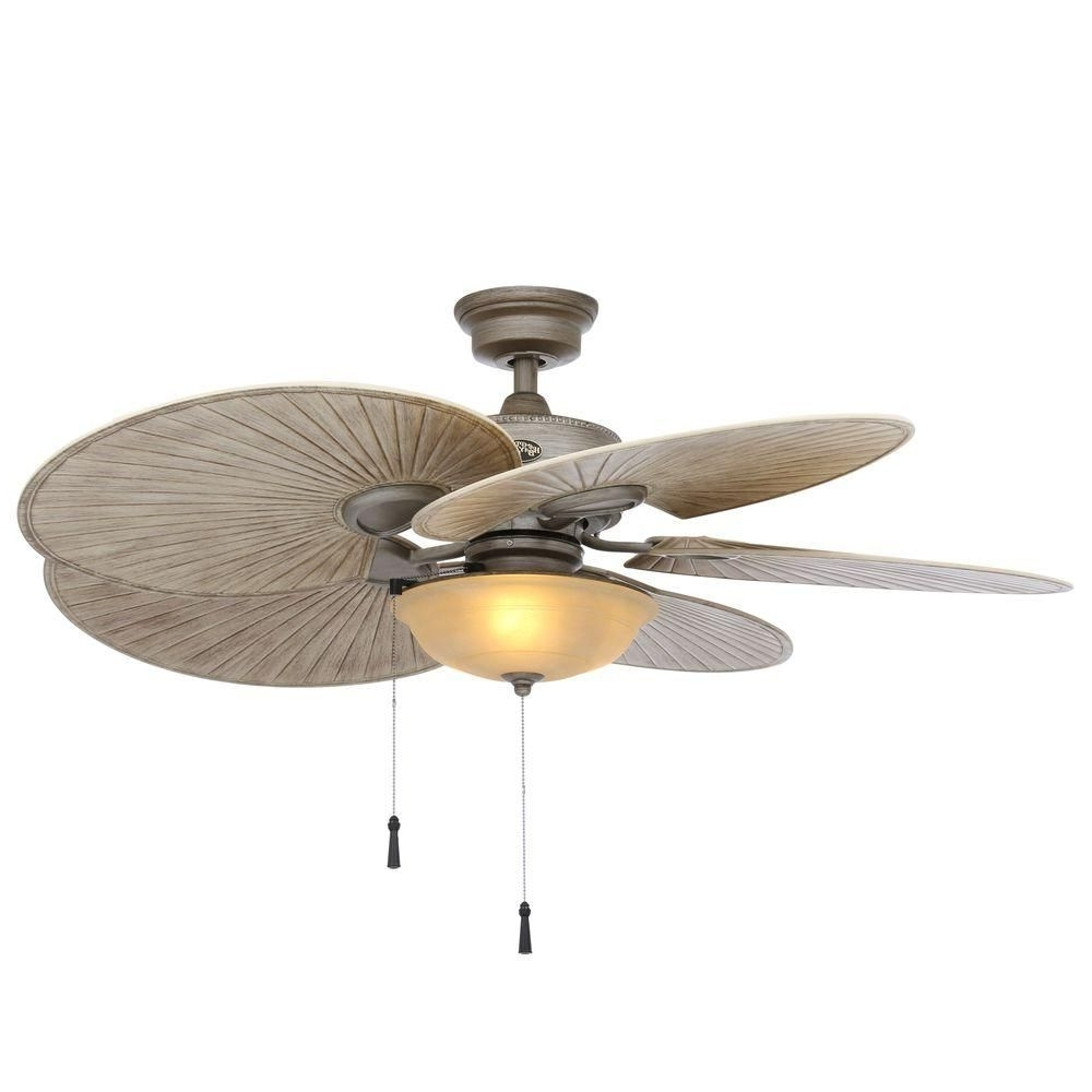 2019 48 Outdoor Ceiling Fans With Light Kit Inside Hampton Bay Havana 48 In (View 6 of 20)