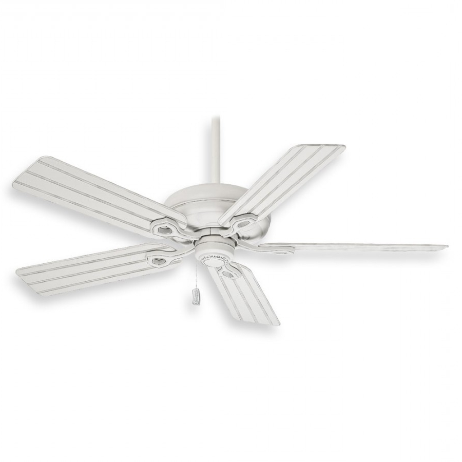 2019 Casablanca Outdoor Ceiling Fans With Lights Regarding Casablanca Charthouse Ceiling Fan – 55012 Cottage White (View 1 of 20)