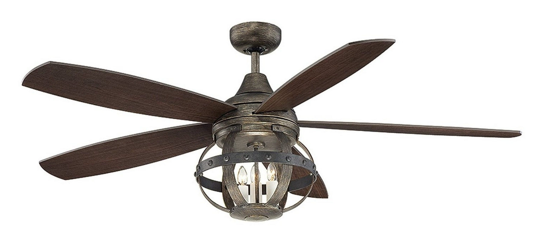 2019 Industrial Outdoor Ceiling Fan With Light Industrial Outdoor Ceiling In Industrial Outdoor Ceiling Fans With Light (Gallery 2 of 20)