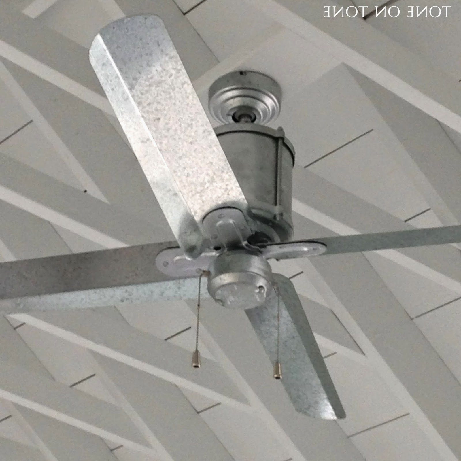2019 Outdoor Ceiling Fans With Galvanized Blades With Regard To Patio Fans Unique Galvanized Industrial Ceiling Fan At 1810 Maine (Gallery 10 of 20)