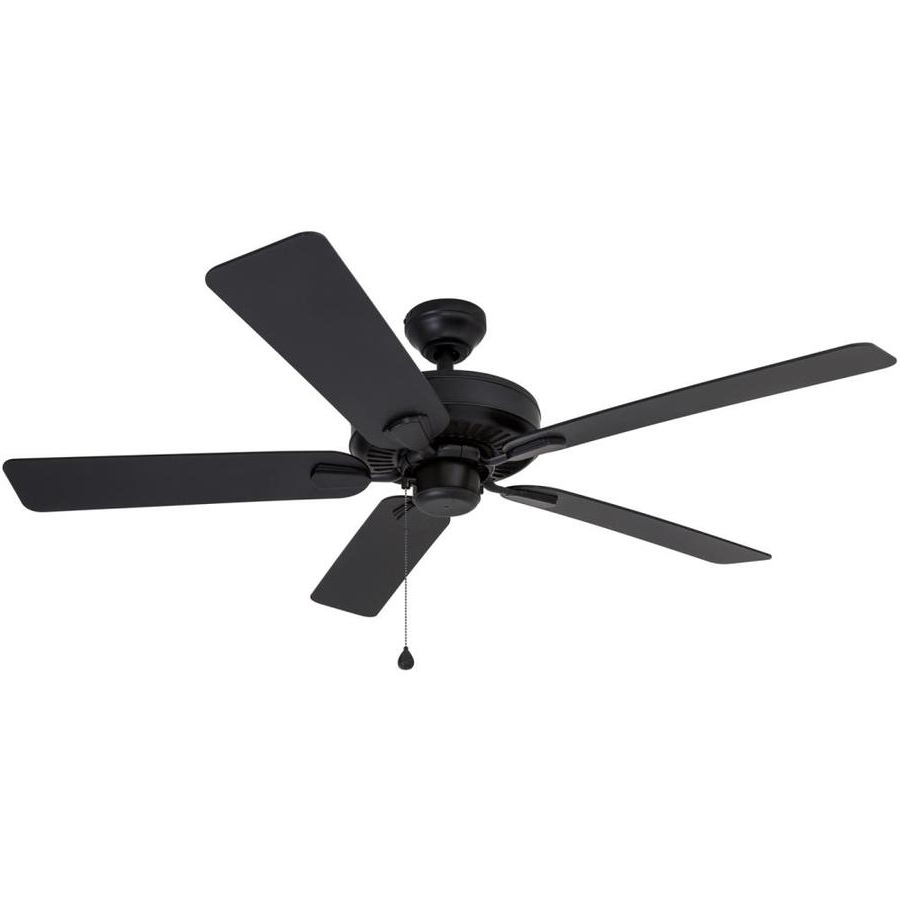2019 Outdoor Ceiling Fans With Guard For Shop Harbor Breeze Calera 52 In Aged Bronze Indoor/outdoor Downrod (View 3 of 20)