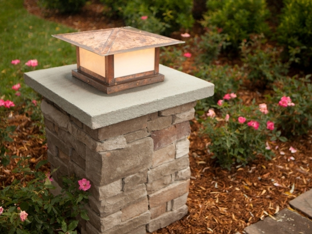 2019 Outdoor Lighting Pillars – Outdoor Lighting Ideas Pertaining To Outdoor Pillar Lanterns (Gallery 18 of 20)