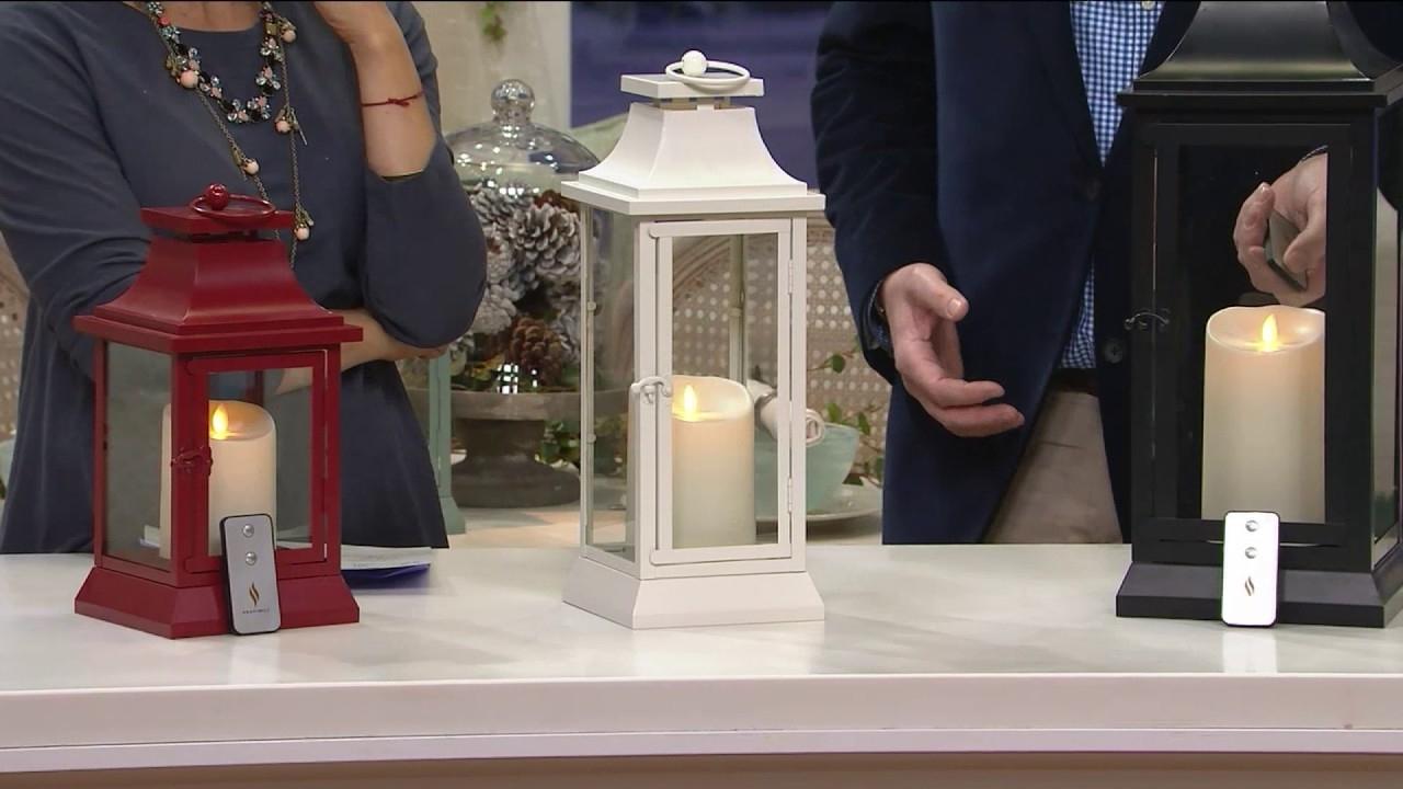 2019 Outdoor Luminara Lanterns Throughout Luminara Heritage Indoor Outdoor Lantern With Flameless Candle (Gallery 13 of 20)