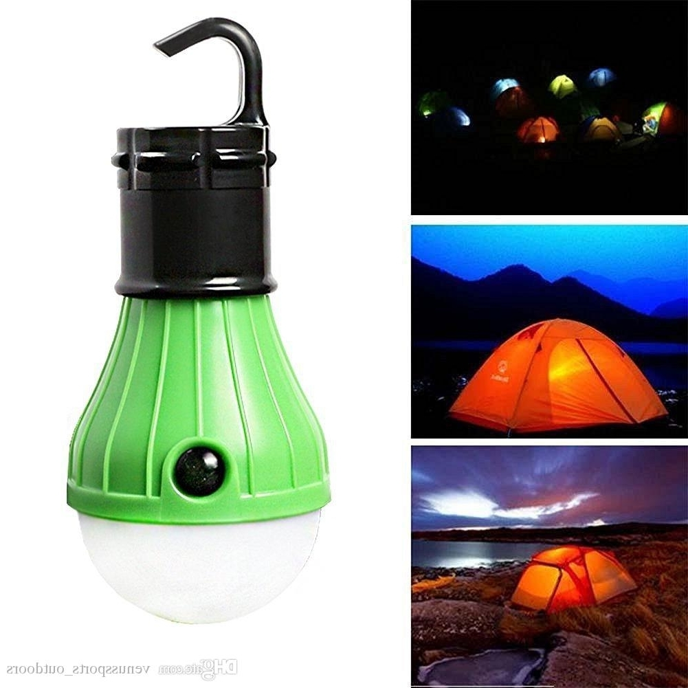 2019 Raking Outdoor Camping Lamp Tent Portable Led Lantern Tent Light Pertaining To Led Outdoor Hanging Lanterns (View 1 of 20)