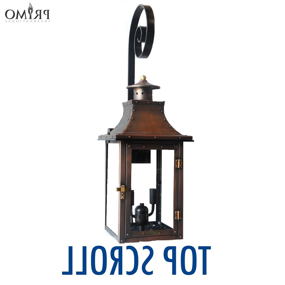 2019 Royal Gas Or Electric Copper Lanternprimo – French Market Gas For Outdoor Propane Lanterns (View 3 of 20)