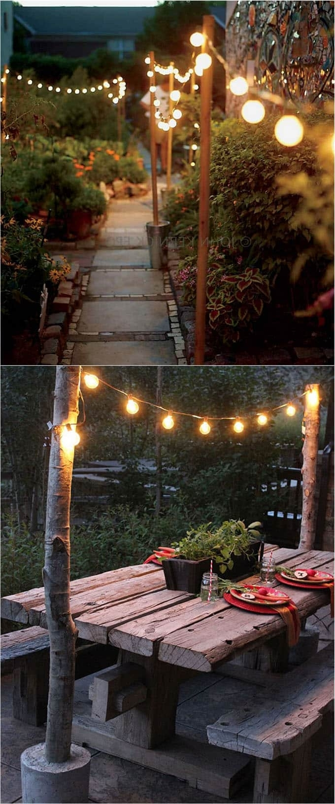 28 Stunning Diy Outdoor Lighting Ideas ( & So Easy! ) – A Piece Of Within 2019 Outdoor Tropical Lanterns (View 2 of 20)