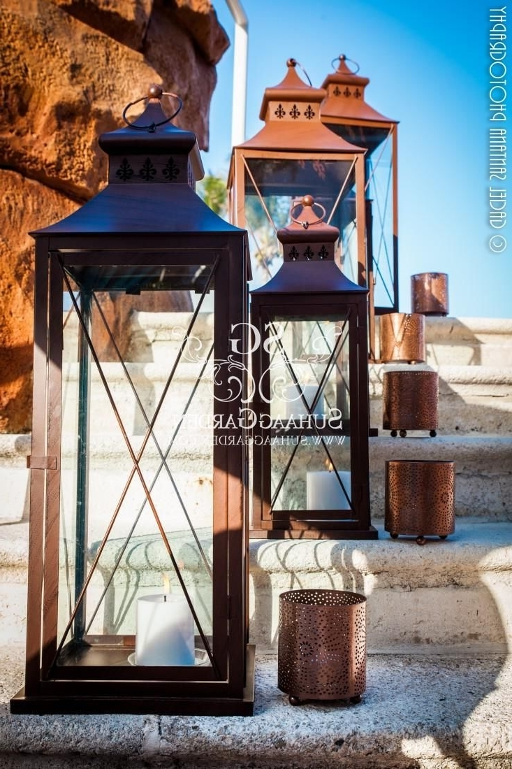 33 Clever Outdoor Pool Lanterns Decorative Lantern Glass Terraflame With Regard To Preferred Outdoor Indian Lanterns (Gallery 9 of 20)