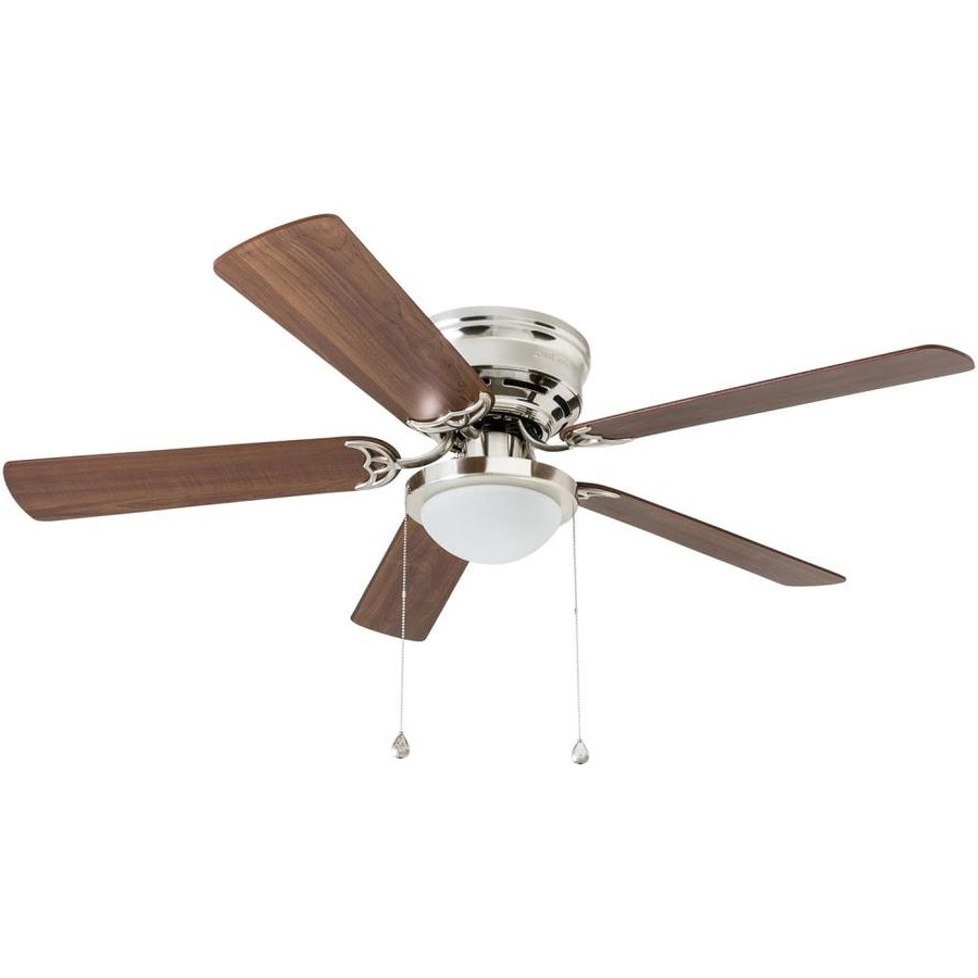 36 Inch Outdoor Ceiling Fans With Light Flush Mount With Best And Newest Shop Ceiling Fans At Lowes (Gallery 7 of 20)