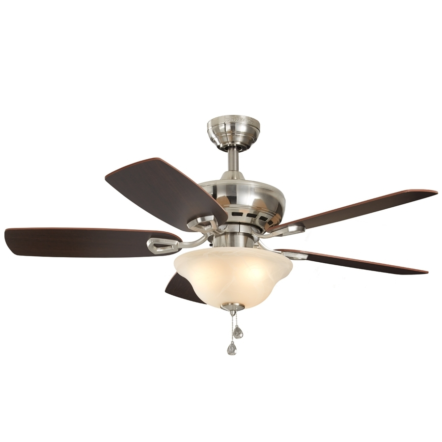 36 Inch Outdoor Ceiling Fans With Lights Inside Most Current Shop Ceiling Fans Below 100 At Lowes (View 3 of 20)