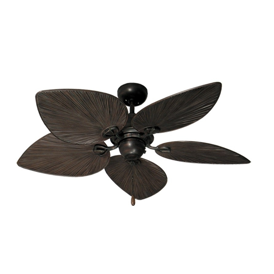 42 Inch Tropical Ceiling Fan – Small Oil Rubbed Bronze Bombay Inside Most Current Oil Rubbed Bronze Outdoor Ceiling Fans (Gallery 17 of 20)