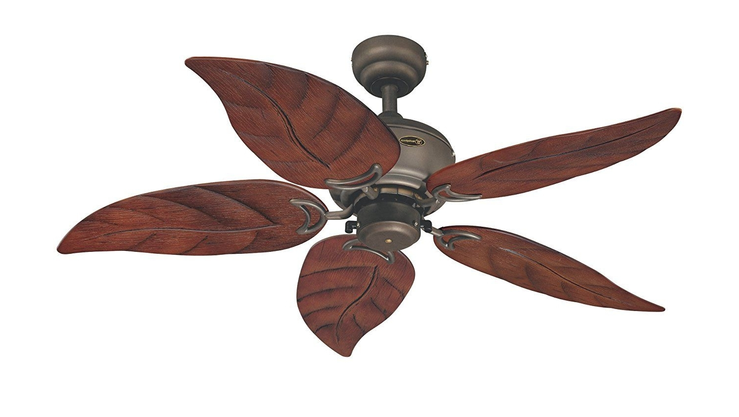 48 Inch Outdoor Ceiling Fans With Regard To Latest Westinghouse 7861920 Oasis Single Light 48 Inch Five Blade Indoor (Gallery 10 of 20)