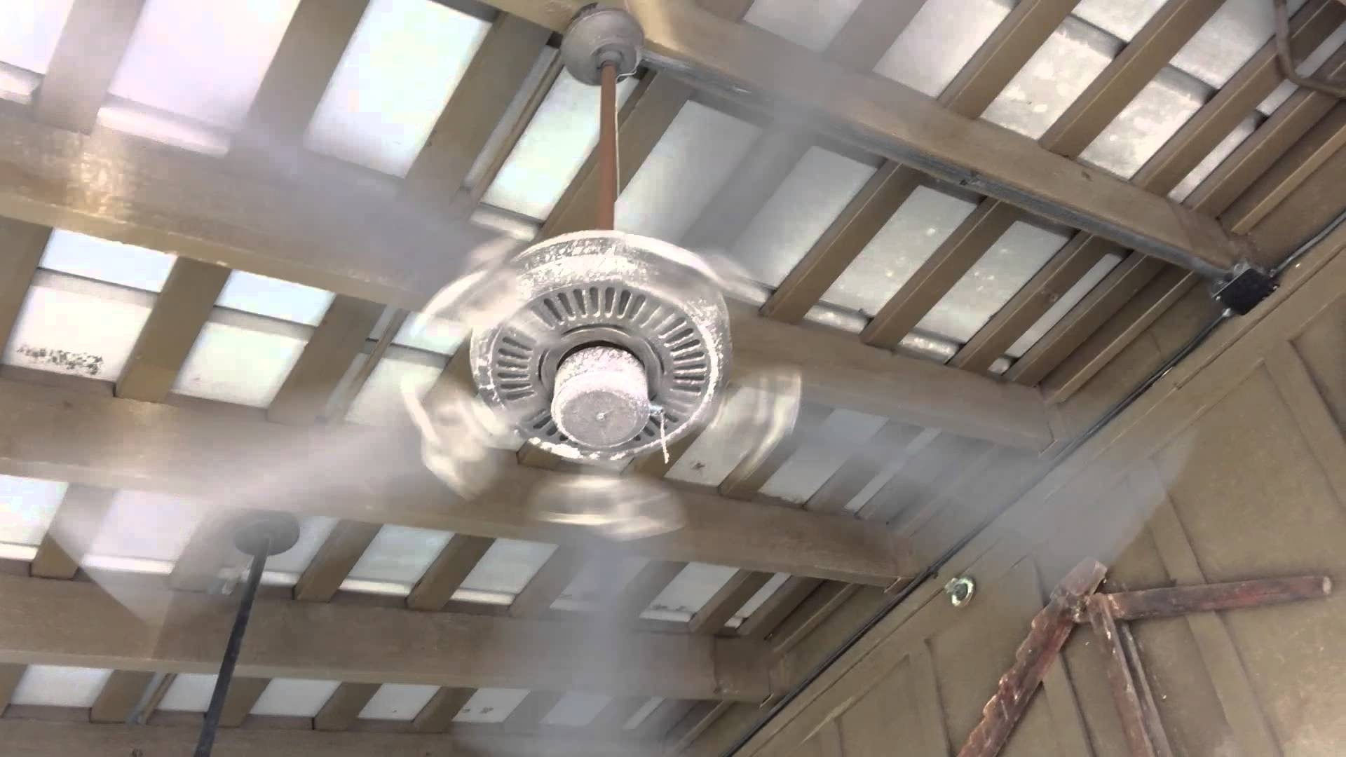 "52"" Craftmade Cxl & Outdoor Patio Ceiling Fans In A Cracker Barrel Inside Trendy Outdoor Ceiling Fans With Misters (Gallery 4 of 20)"