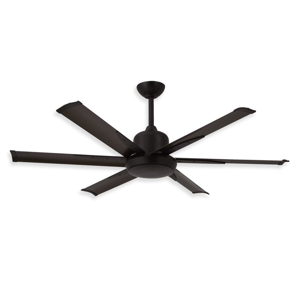 52 Inch Dc 6 Ceiling Fantroposair – Commercial Or Residential Inside Famous Flush Mount Outdoor Ceiling Fans (View 3 of 20)