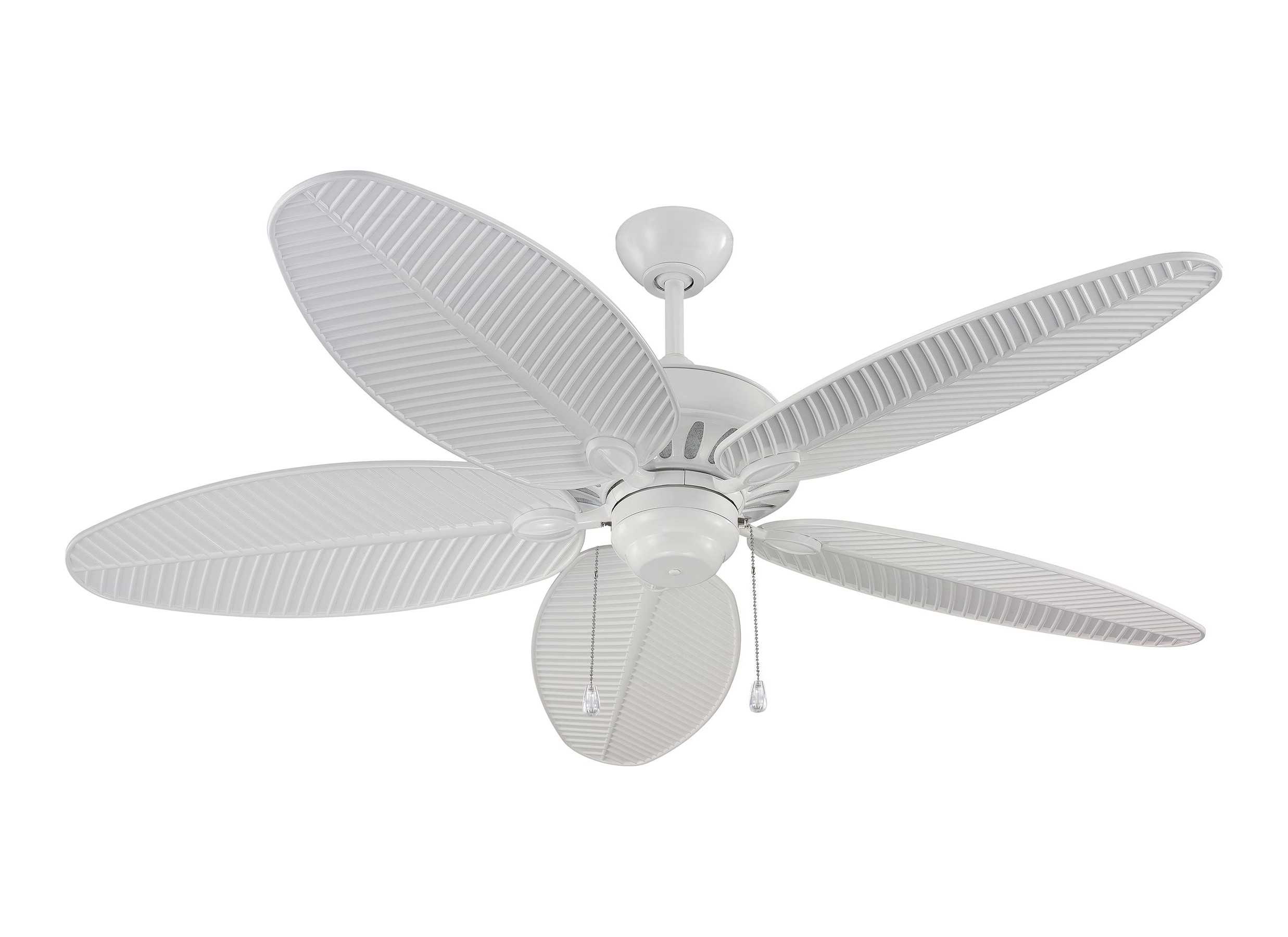 "5Cu52Wh,52"" Cruise Outdoor Fan  White (Wet Rated) ,white For 2019 Outdoor Ceiling Fans With Lights Damp Rated (View 1 of 20)"