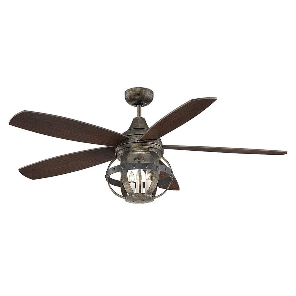 60 Inch Outdoor Ceiling Fans With Lights With Recent Inch Hunter Outdoor Ceiling Fan 60 Inch Ceiling Fan With Light On (View 4 of 20)