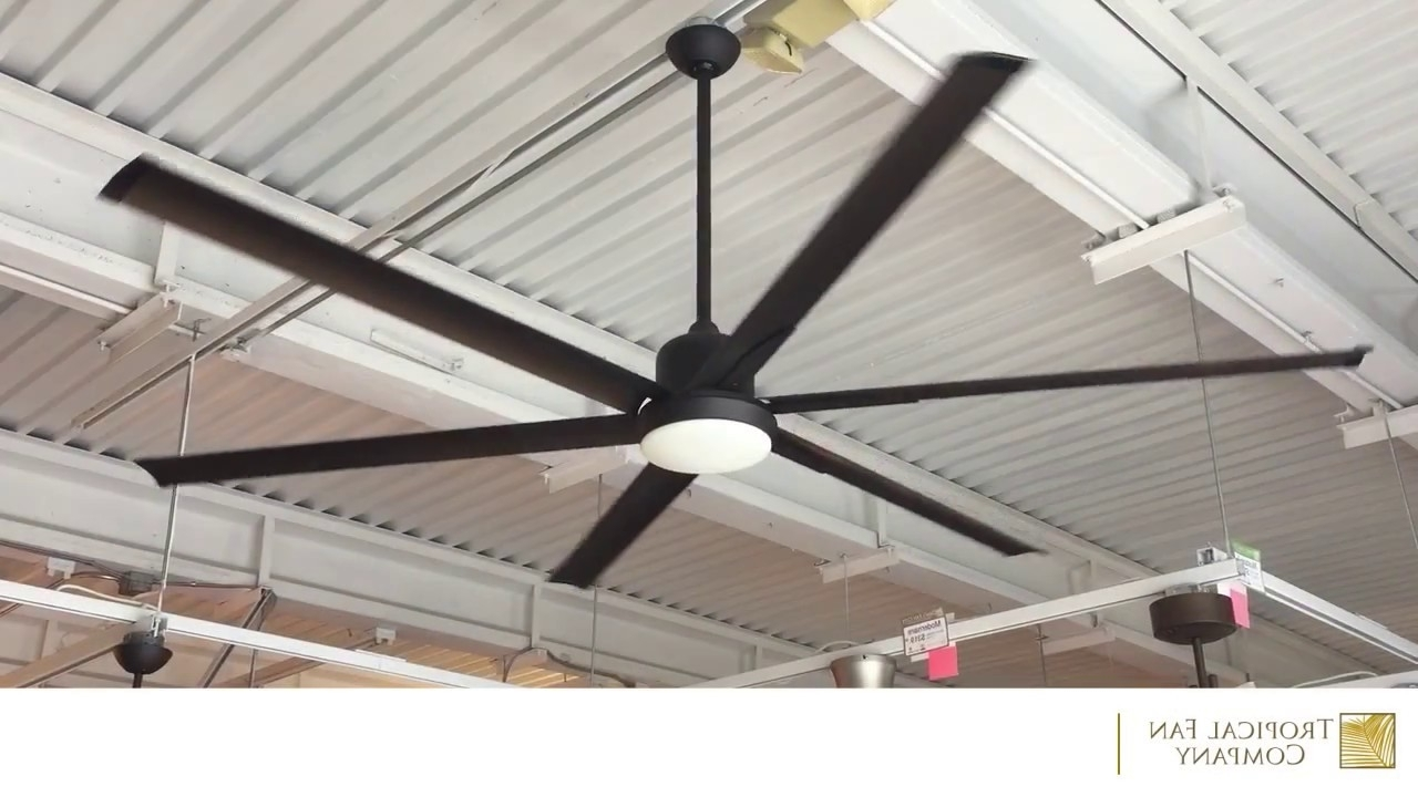 84 Inch Titan Ceiling Fan With Extruded Aluminum Bladestroposair In 2019 Outdoor Ceiling Fans With Aluminum Blades (View 2 of 20)