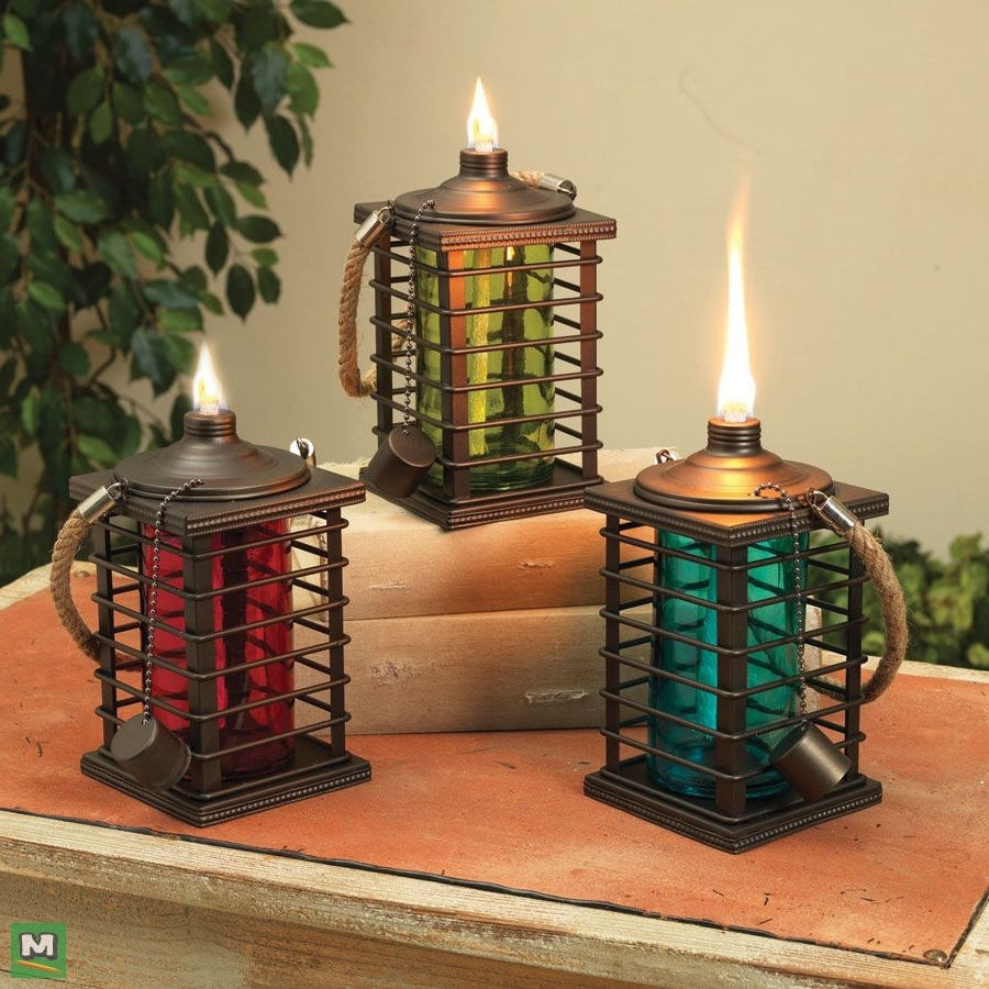 Add Additional Lighting To Your Outdoor Living Space With Enchanted With Most Popular Red Outdoor Table Lanterns (View 1 of 20)