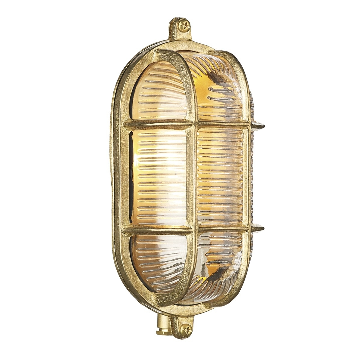 Admiral Outdoor Brass Wall Light Pertaining To Best And Newest Brass Outdoor Lanterns (View 1 of 20)