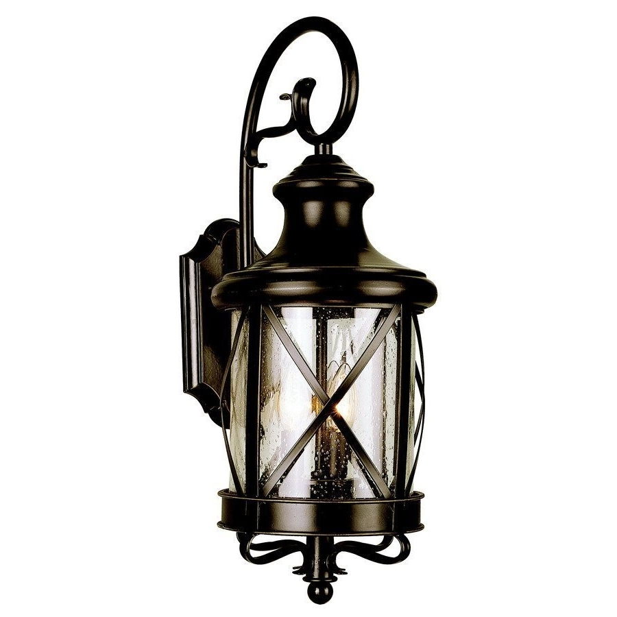 Allen Roth Castine Pendant And Lighting Outdoor Wall Lantern Pertaining To Well Known Outdoor Lamp Lanterns (Gallery 7 of 20)